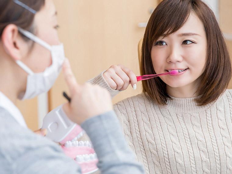 横浜日吉おおとう歯科 予防歯科 ブラッシング指導